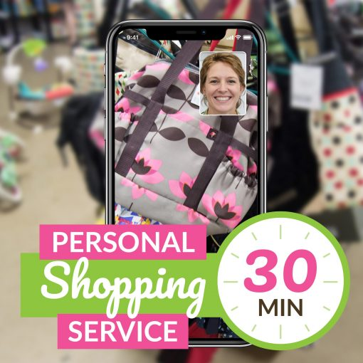 30 minute personal shopper